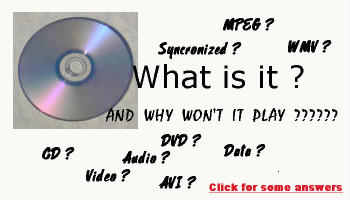 Click here for a primer on disc formats used in the legal practice